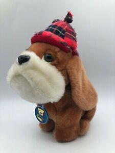 Vintage R Dakin 1978 Sherlock Holmes Dog Basset Hound Plush Stuffed Toy Animal