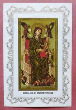 Santino Holy Card a libretto: Maria SS. di Montevergine