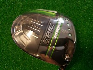 CALLAWAY EPIC MAX LS 9 DEGREE DRIVER HEAD ONLY NEW IN WRAPPER w/Headcover