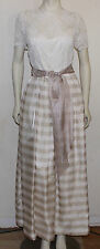 Jonathan Tait lace and stripe organza special event gown  10