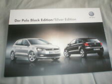 VW Polo Black & Silver Edition brochure May 2013 German text