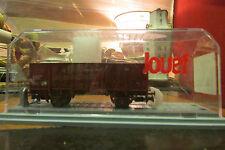 ancien wagon train electrique jouef marchandise dans sa boite