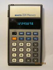 Calcolatori: palmare: Stivali di memoria 224 (tipo B1) (realizzato da Casio B1 tipo)