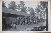 1918 Postcard: Mess-Camp Hancock - Augusta, Georgia, GA