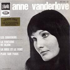 ANNE VANDERLOVE Les souvenirs 45 Tours 4 Titres