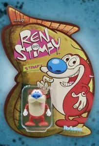 Stimpy Ren and Stimpy Super 7 Reaction Action Figure