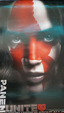THE HUNGER GAMES MOCKINGJAY 2 Panem Unite Movie Poster 27 x 40 DS Authentic