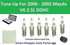 Tune Up for 2000 2001 2002 Mazda MPV V6 Cabin Air Filter, Oil Filter, PCV Valve