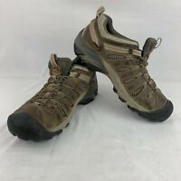 Men's Keen Dry Waterproof Brown Leather Oxford Hiking Outdoor Shoes Size 10.5