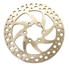 140mm Disc Brake Rotor - 6-Bolt - Steel - MTB, XC, CX & Road - Inc. Bolts