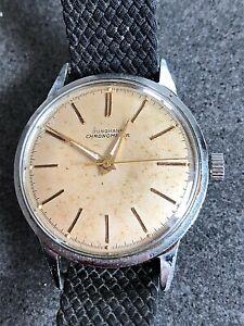 Vintage Junghans Chronometer Herrenuhr  Uhr Armbanduhr Handaufzug von 1959