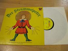 LP Der Struwwelpeter Hörspiel Heinrich Hoffmann Vinyl Für Dich 120 142