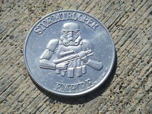 Original Vintage Star Wars POTF Coin - Stormtrooper