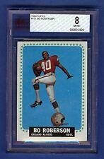 1964 Topps Football Bo Roberson #151 Oakland Raiders BVG 8