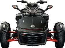 "Can Am Spyder F3 Decal Graphic Wrap kit - ""Carbon Fiber"" HOOD ONLY"