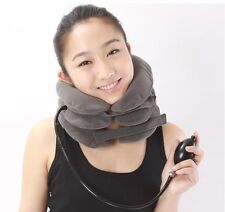 1 Blue Air Neck Relex Traction Reduce Travel Neck Shoulder Pain, Christmas Gift