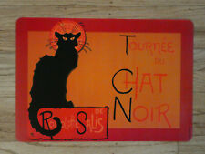 French Placemat - Vintage Advertising Image - Chat Noir, Bieres, Moulin Rouge