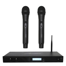 Audio2000 AWM6901 Dual Channel Handheld Digital Wireless Microphone System