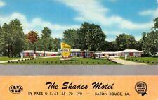 Shades Motel By Pass US 61 65 70 190 Baton Rouge La