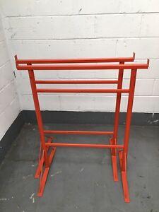 2 x No Size 3 Adjustable Builders Trestles / Trestle Band Stands