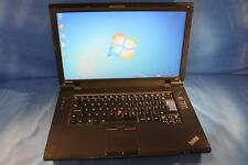 "LENOVO THINKPAD L510 CELERON T3100 1.9GHz 4GB RAM 160GB HDD HDMI 15.6"" LAPTOP"
