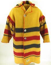 Vintage 80s Five Point Blanket Coat Mens XL Earlys of Witney Wool Horse Rug