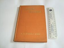 Old fishing book poems G.L.Ashley Dodd The Big Carp,The Whale,Day onthe Test.Ads
