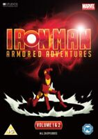 Neuf Iron Man - Protection Aventures Complet Volumes 1 Pour 2 DVD (3711532653)