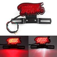 LED Brake Tail Light Running Lamp Plastic Housing For Hy Chopper Motorcycle T3