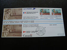 FRANCE/CANADA - document 1984 jacques cartier (cy33) (A)