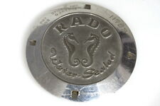 Rado water sealed 11782 case back for parts/restore - 132556