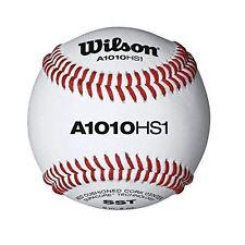Wilson A1010HS1 High School NFHS Stamped Baseballs (1 dozen)