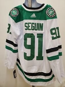 New Tyler Seguin Adidas mens 50 Jersey Dallas Stars white authentic size Medium