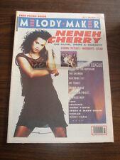 MELODY MAKER 1990 SEPTEMBER 15 NENEH CHERRY HUMAN LEAGUE SHAMEN WATERBOYS