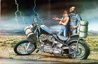 motorhead, biker life, david mann art 06 Wall Decor Poster , no Framed
