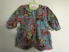 Oilily velvet dress size 86, 18-24 months, EUC