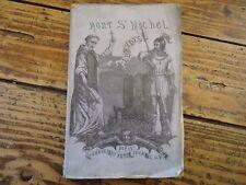 LE MONT SAINT MICHEL AU PERIL DE LA MER - LEGENDES ET RECITS 1867 E.O