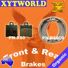 FRONT REAR Brake Pads Shoes YAMAHA BWs 50 1999-01 2002 2003 2004 2005 2006 2007