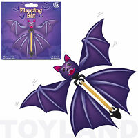 FLAPPING BAT PAPER FLYING TOY BOYS HALLOWEEN BIRTHDAY GIFT PARTY BAG FILLER