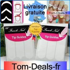Bandelette nail art French tip guide stickers - autocollants manucure parfaite