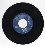 """BABY HUEY Hard Times / Listen To Me - New 70s Soul / Funk 45 (Soul Brother) 7"""""""