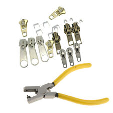 23Pcs Metal Fix Zipper Zip Slider Rescue Instant Repair Kit Bag Tent Pliers