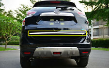 Rear gate lid cover trunk lid cover trim for Nissan Rogue X-trail 2014 2015