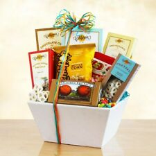 California Snack Sampler Gift Basket Box set Candy Nuts Holiday Birthday Love