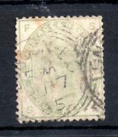 GB QV 1883 4d green SG192 fine used WS12873