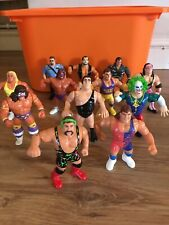 WWE WWF Bundle of Hasbro wrestling figures including Andre the Giant.