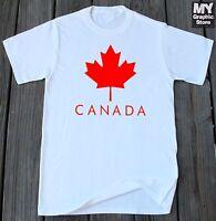 Canada Pride T-shirt Canadian Maple Leaf T-shirt Canada Flag T-shirt Canada Tee