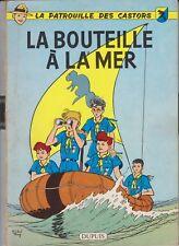 LA PATROUILLE DES CASTORS Michel TACQ La bouteille à la mer N°5  EO 1959