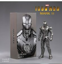 "Zd Toys 1:10 Iron Man Mk 2 Mark Ii 7"" 18Cm Movie Soldier Action Figure Presale"
