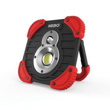 Nebo Tango 6665 1000 Lumen Rechargeable Work + Spot Light Flashlight Power Bank